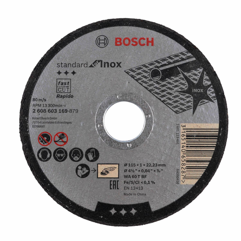 Esmerilhadeira Angular 750W Gamma e Discos de Corte Bosch 220V