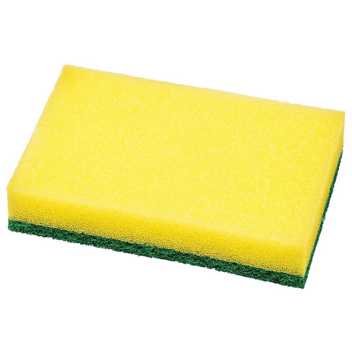 Esponja Dupla Face Verde Kala 3 Peças