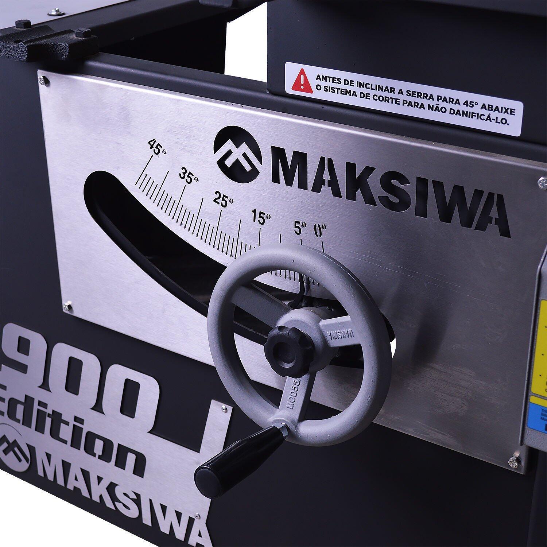 Esquadrejadeira Black Edition 1900mm Maksiwa – 220 / 380V