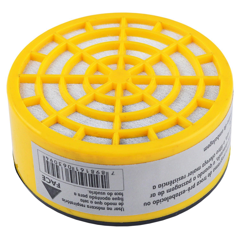 Filtro Para Gases + Respirador e Pré Filtro Carbografite
