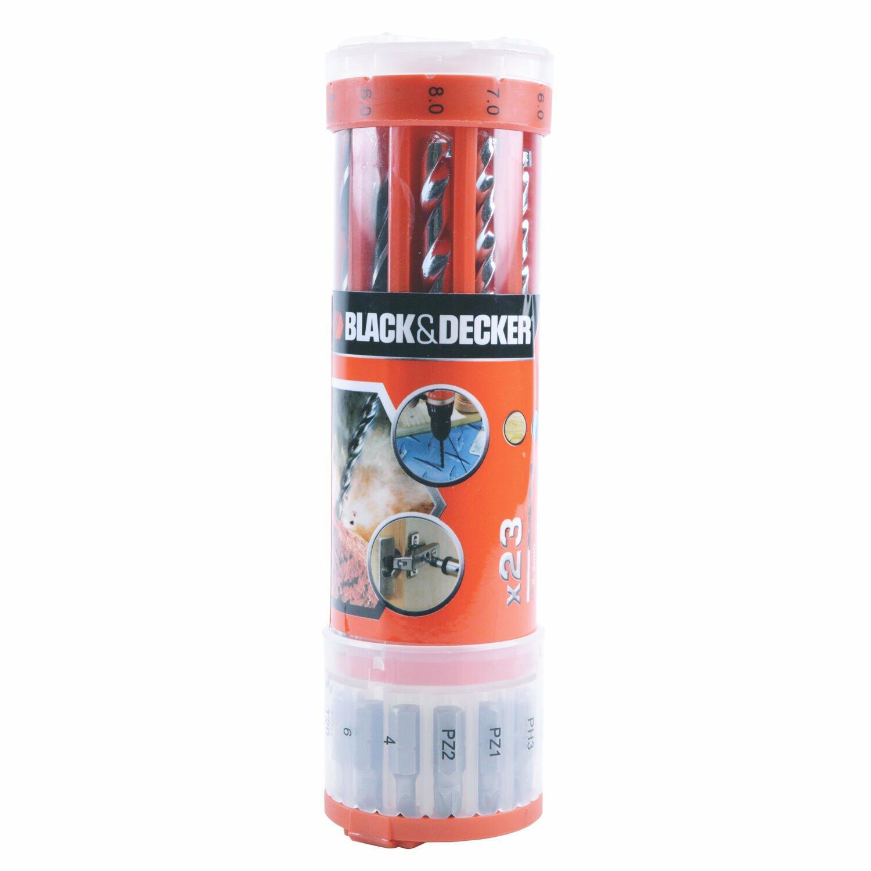 "Furadeira De Impacto 3/8"" 560W TM500 + Kit Black&Decker - 127V"