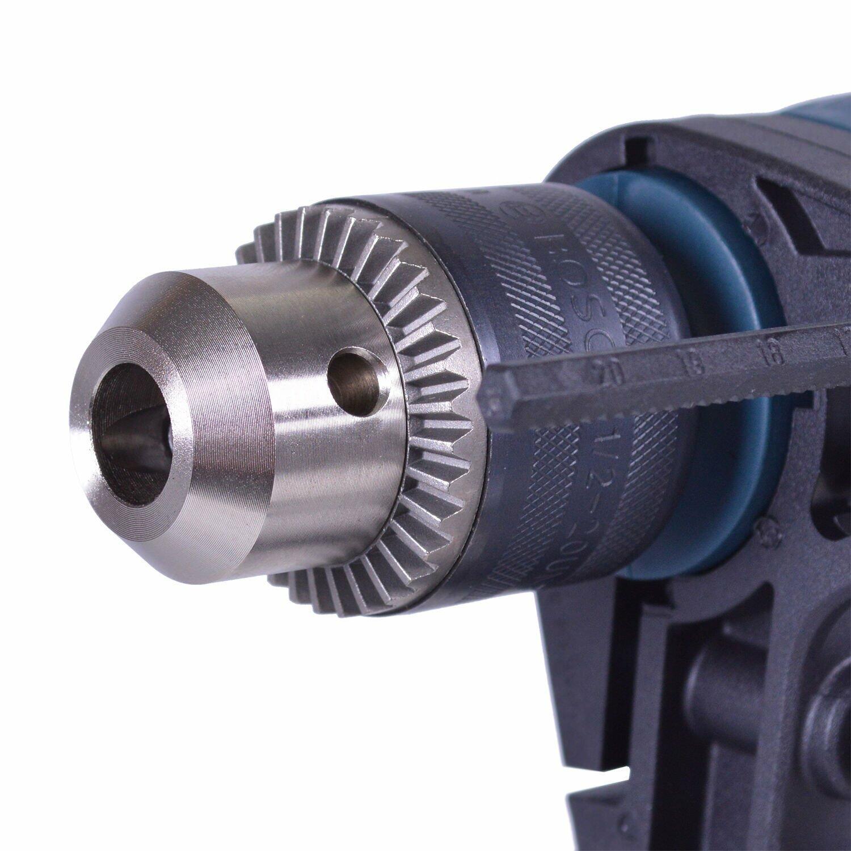 """Furadeira De Impacto Reversível 1/2"""" 650W Com Maleta - 220V"""