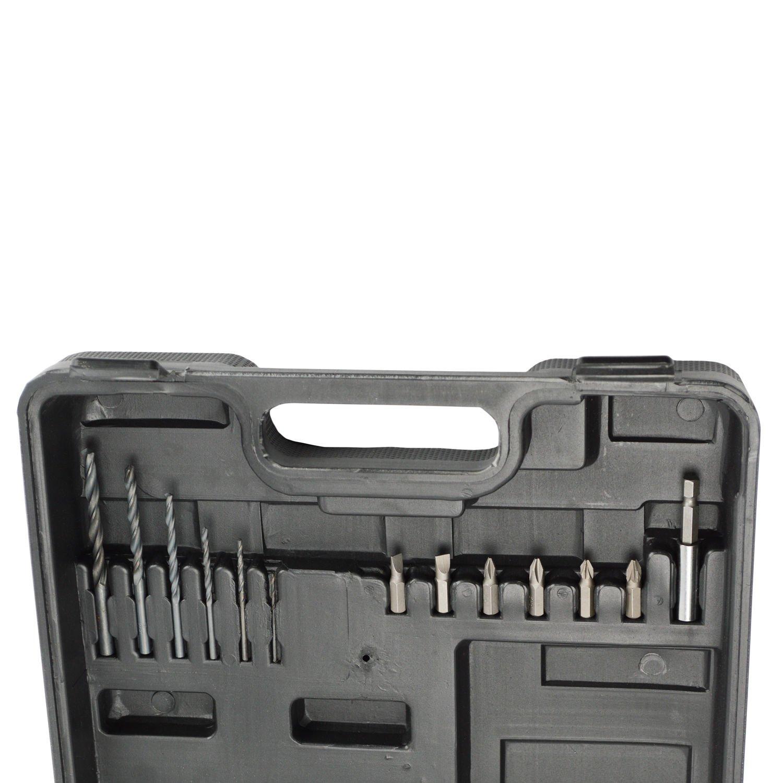 """Furadeira e Parafusadeira a Bateria 12V 3/8"""" Schulz - 127V"""