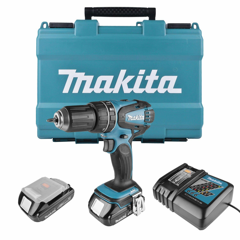 Furadeira E Parafusadeira A Bateria Dhp456rhe Makita - 127V