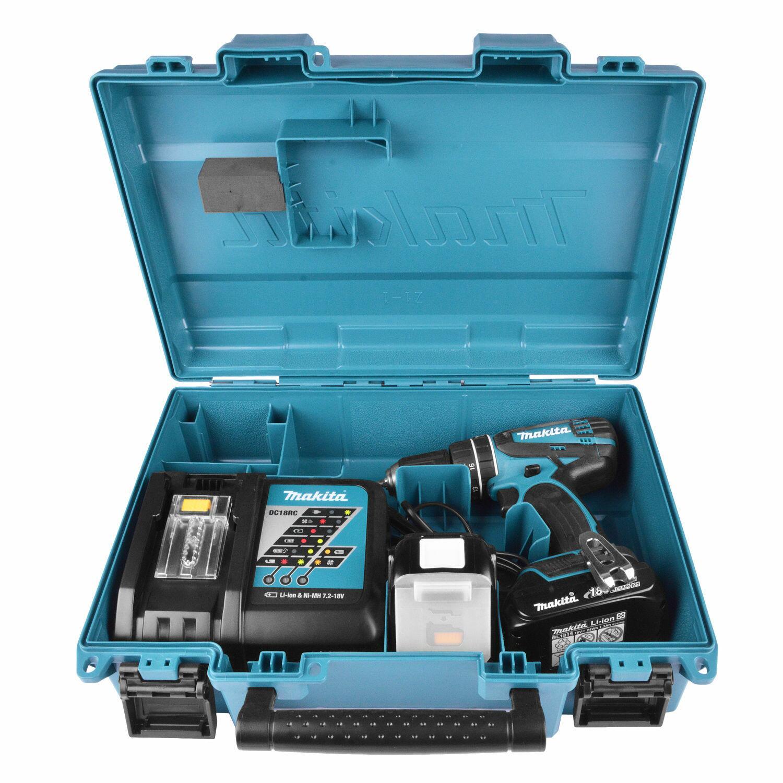 Furadeira E Parafusadeira A Bateria Dhp456rhe Makita - 220V