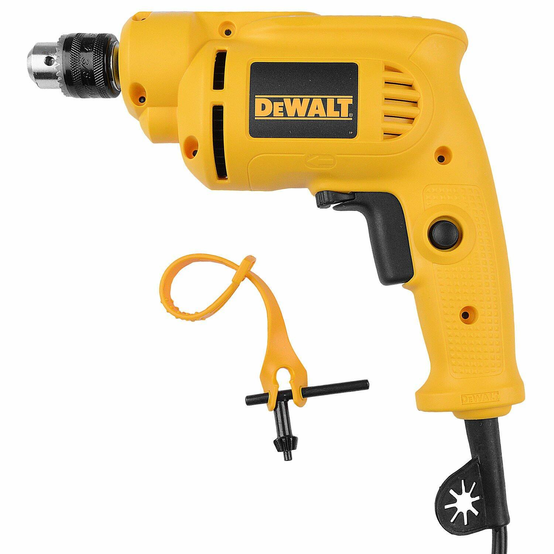 """Furadeira Elétrica 1/4"""" (6mm) 380W Dwd010-br Dewalt - 127V"""