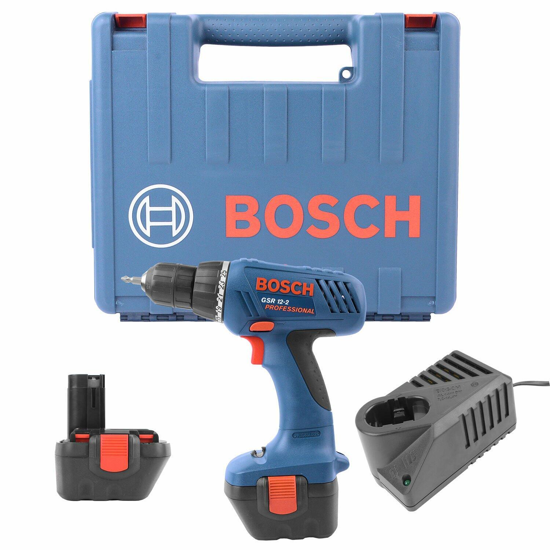 """Furadeira/Parafusadeira 3/8"""" a Bateria 12V GSR12-2 Bosch - 127 Volts"""