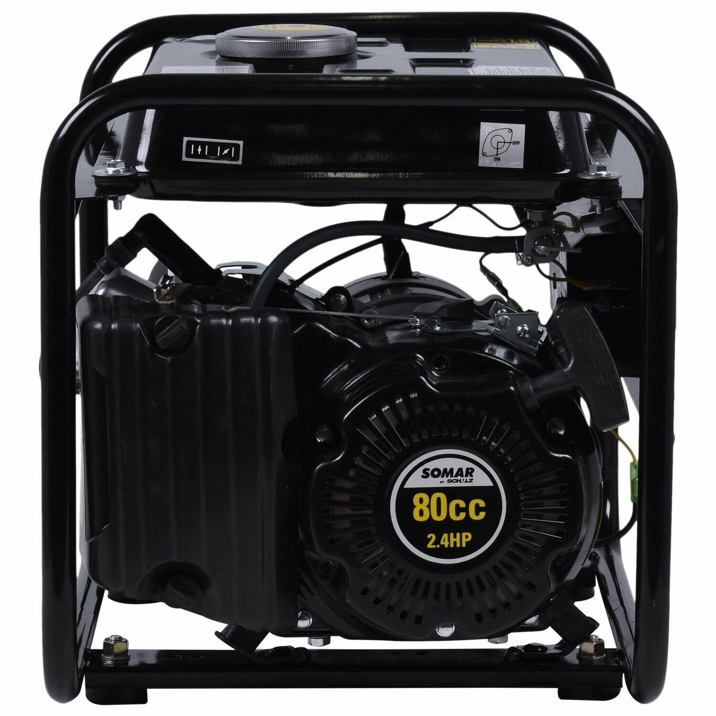 Gerador De Energia 127V 1000W A Gasolina 4T S1200MG Somar