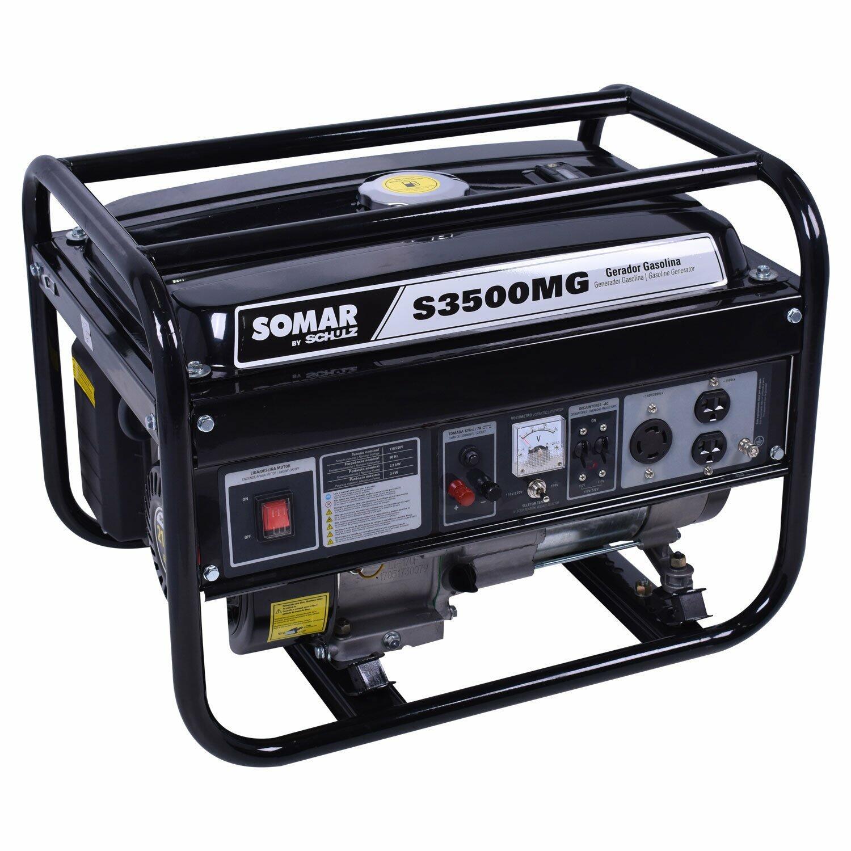 Gerador De Energia 3000W A Gasolina 4 T S3500MG Somar