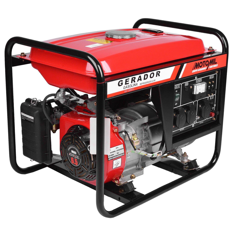 a4759ddf8f8 Gerador De Energia a Gasolina 2800W MG-3000CL Motomil - 110 220V