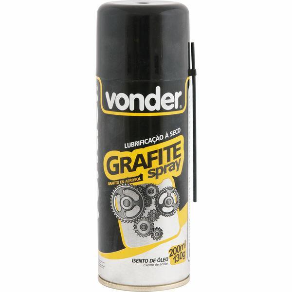 Grafite em spray 130 g VONDER