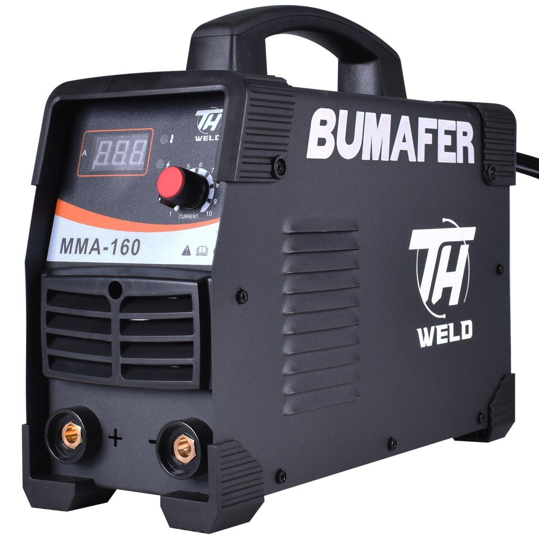 Inversora de Solda Eletrodo 160A Brutus 160I Bumafer -Bivolt