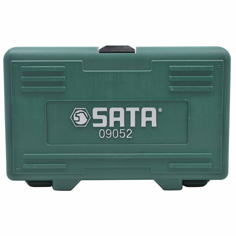 "Jogo de Soquetes com Bits Torx® 18 pçs 1/4"" e 1/2"" Sata"