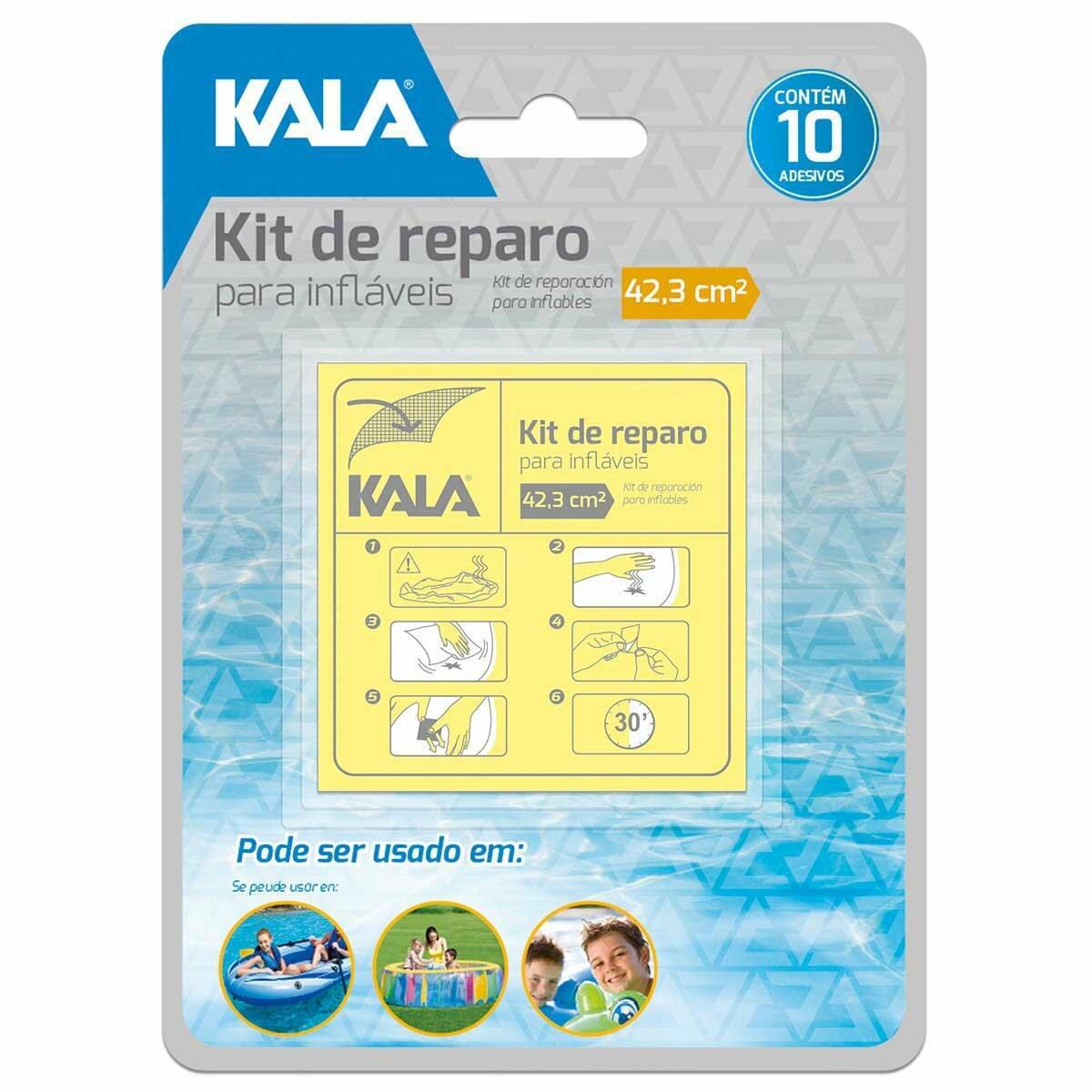 Kit Reparo para Infláveis Kala
