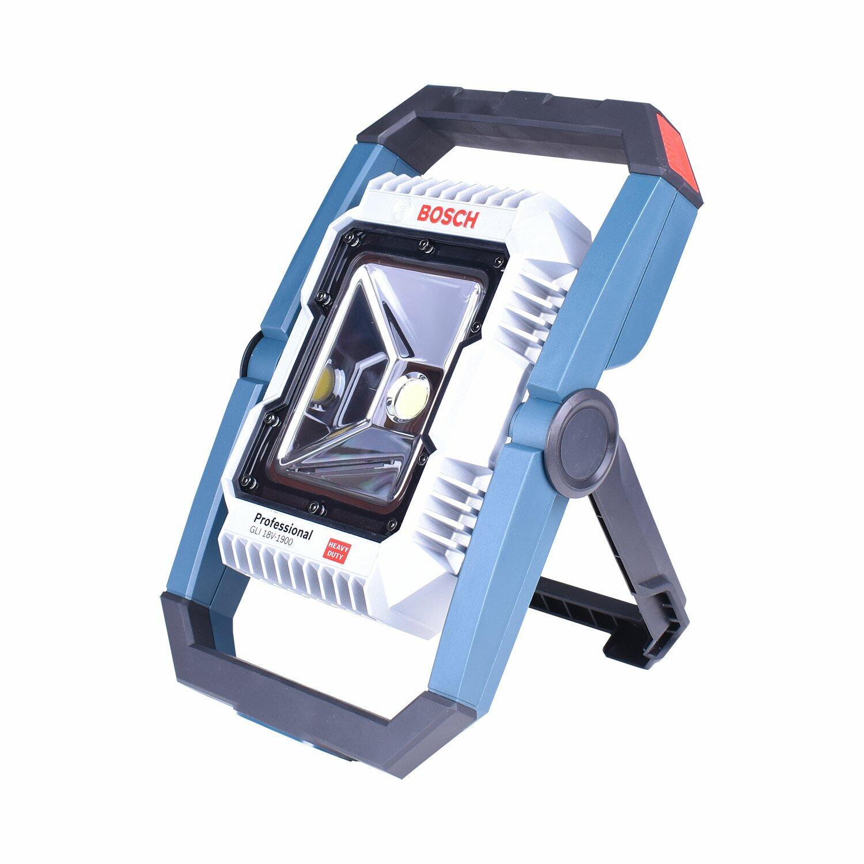 """Lanterna Gho18V-Li + Chave de Impacto 1/4"""" e 1/2"""" GDX180-LI + Carregador com 2 Baterias 18V + Bolsa Ferramentas Bosch"""