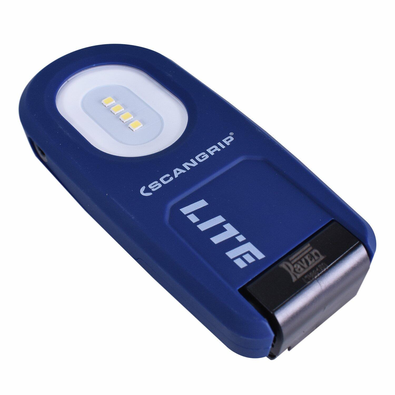 Lanterna A Bateria 4 LEDs 3,7V 5W Lite S RAVEN - Bivolt