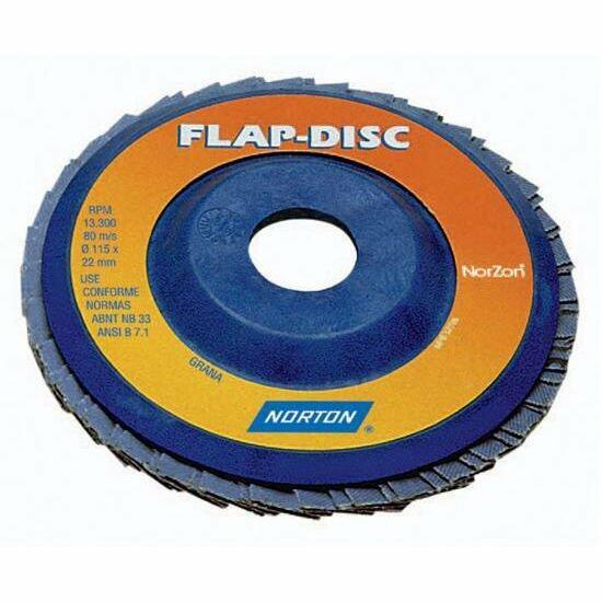 Lixa Flap Disco 180x22mm G120 R-822 Norton