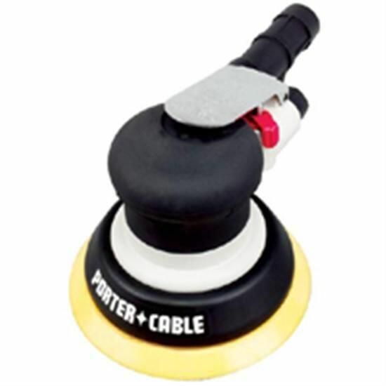 """Lixadeira Orbital Pneumática Disco 6"""" Pts8 Porter Cable"""