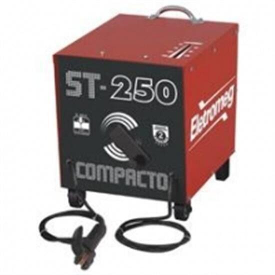 Máquina Transformador De Solda Eletrodo 250 Ampéres ST260 ELETROMEG
