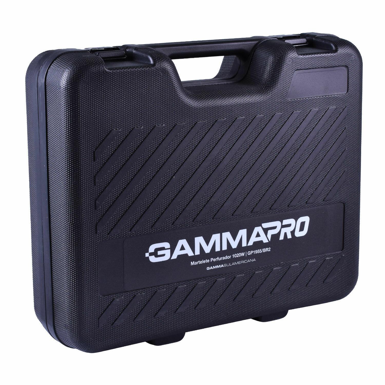 Martelete Perfurador Rompedor 1020 W SDS-Max Gamma - 127V