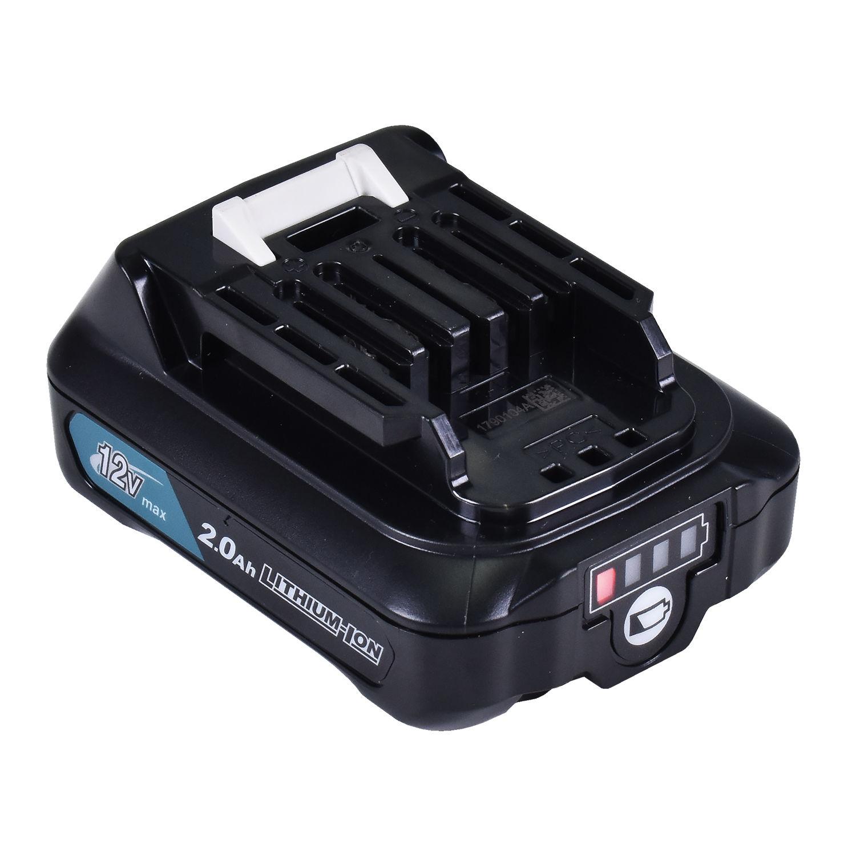 Martelete Perfurador Sds Hr166Dz Makita Bivolt com Bateria BL1021B e Carregador Dc10Wd