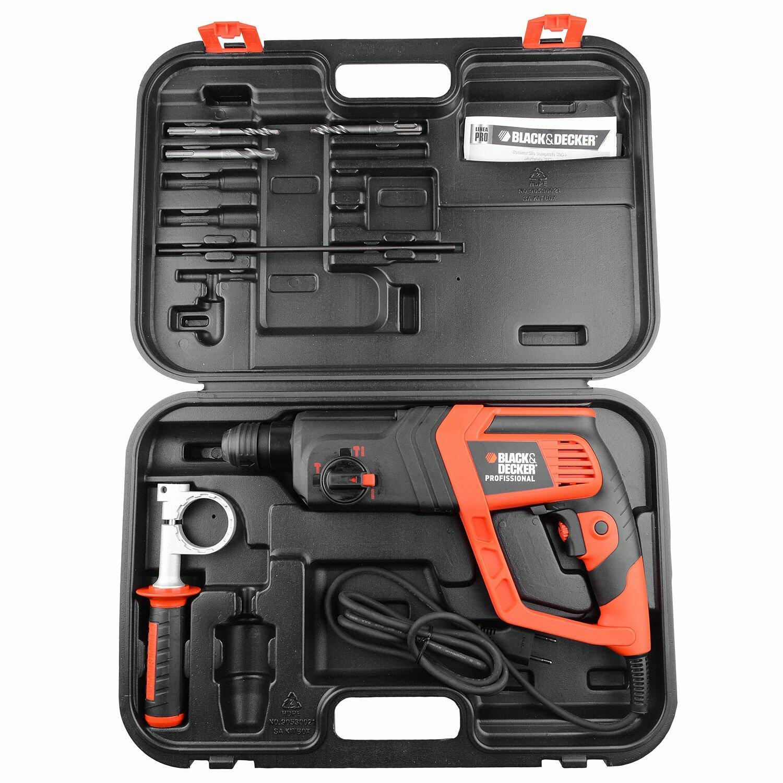 Martelete SDS Plus 700W 200V C/Maleta/Acessórios KD975KA Black&Decker