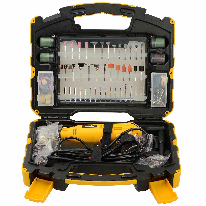 Micro Retífica 115W Com 452 Acessórios Arv453 Vonder
