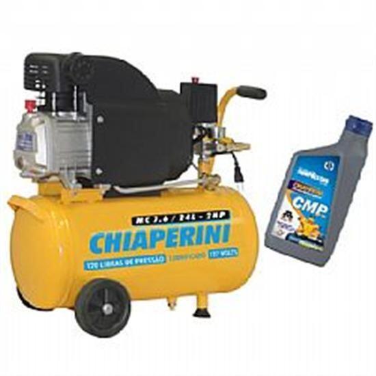 Motocompressor 7,6 Pés 24 Litros Chiaperini - 220 Volts
