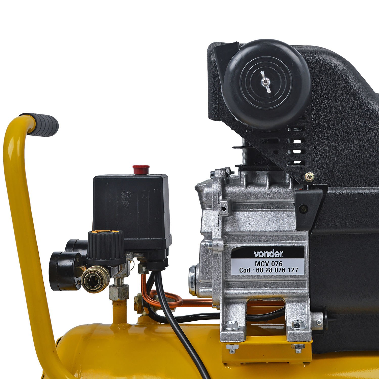 Motocompressor MCV 076, 7,6 pcm, 24 litros Vonder -  127 V