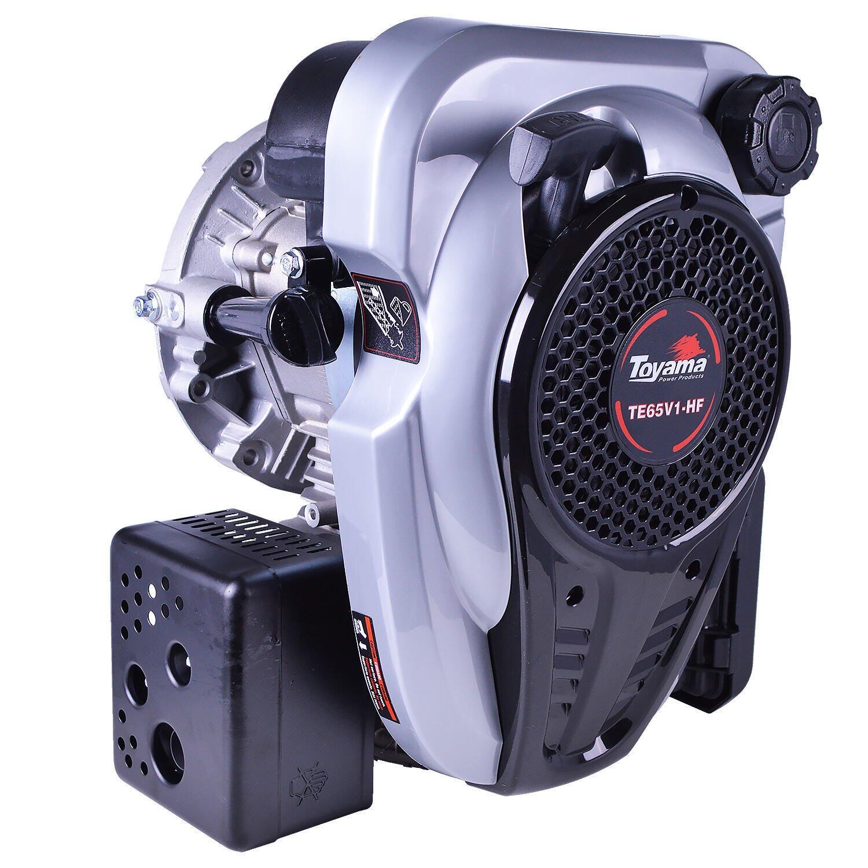 Motor Gasolina 6,5HP 4 Tempos Toyama com Rabeta Vertical Bumafer