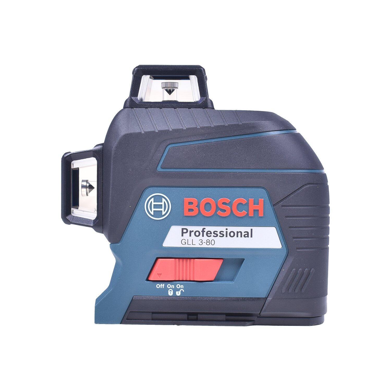 Nível a Laser Linhas Cruzadas 30 Metros GLL3-80 Bosch