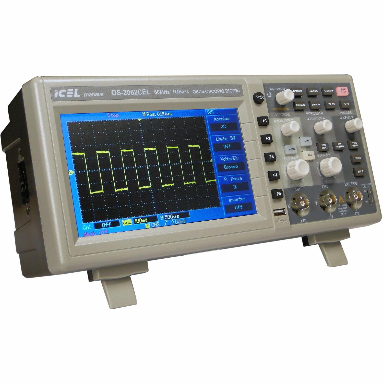 Osciloscópio Digital Icel OS-2062 Icel