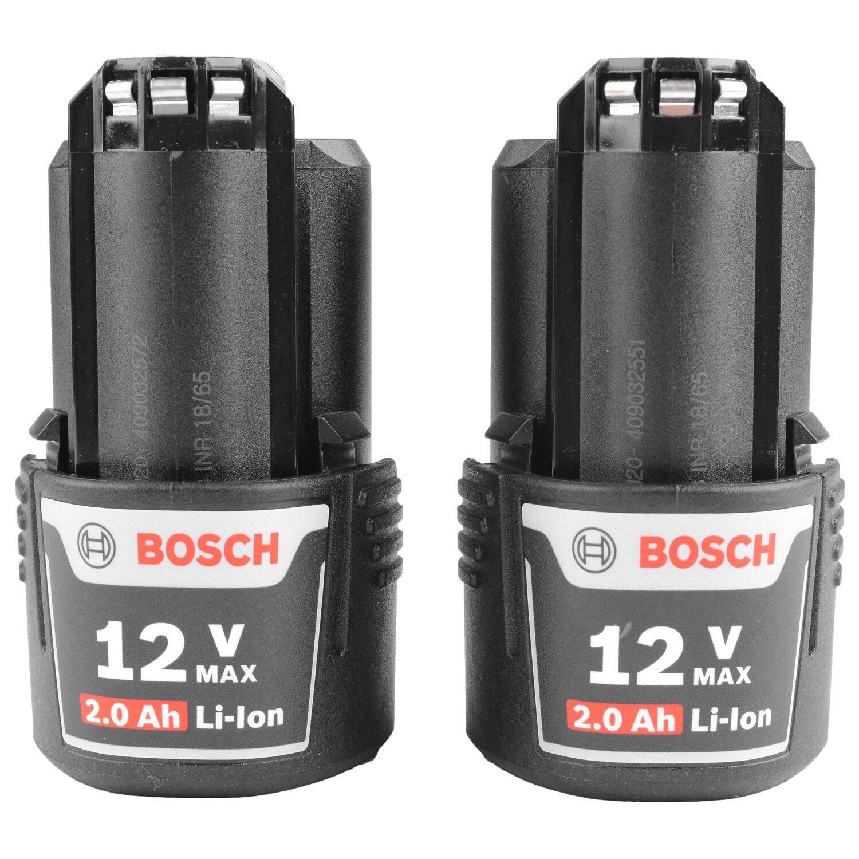 """Parafusadeira 1/4"""" 2 Baterias 12V GWI12V-LI Bosch 220V"""