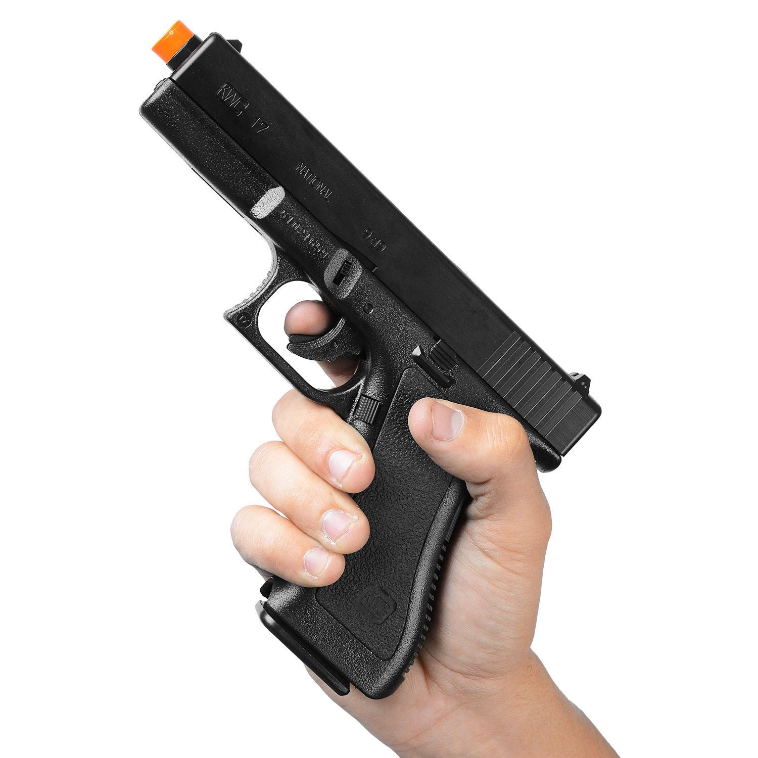 Pistola Airsoft 6Mm G7 Hp Spring Mola Actionx Kwc