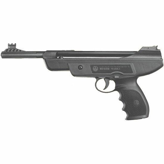 Pistola de Pressão 4,5 mm Mark I Ruger B.E