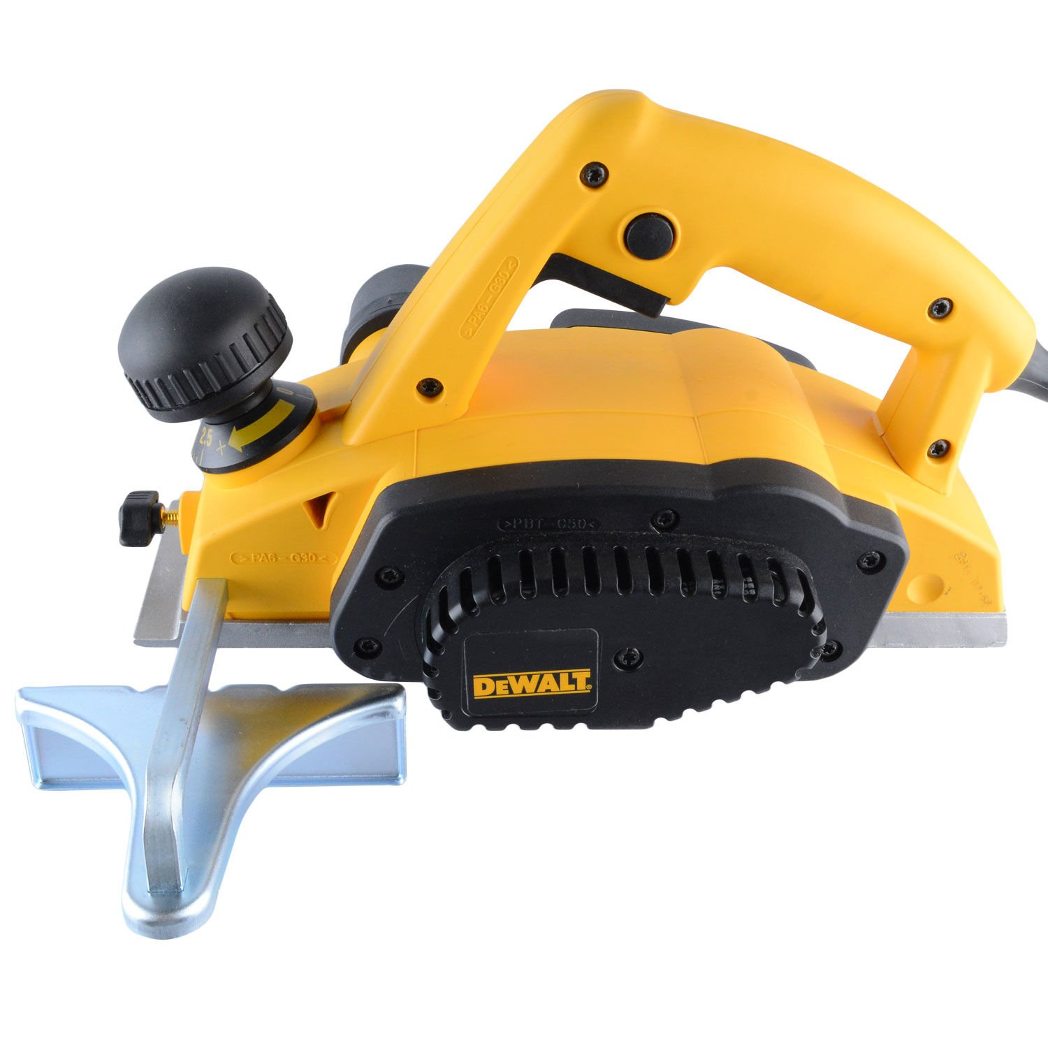 Plaina Elétrica DW680 DeWALT - 2,5 mm, 600 Watts, 127 Volts