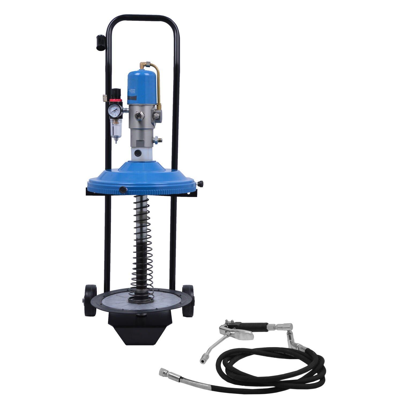 Propulsora Pneumática Para Graxa 20kg C/Rodas 11030-G4 Bozza