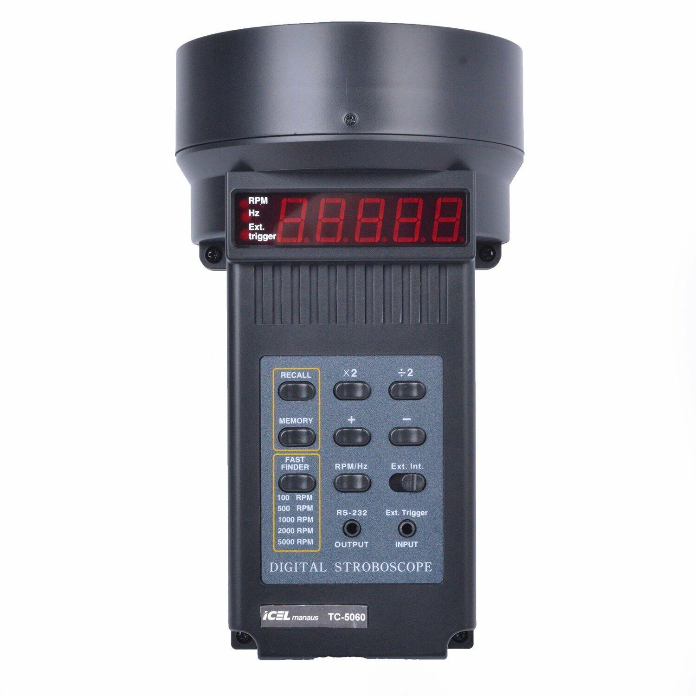 Tacômetro Estroboscópico TC-5060 Icel - 127V