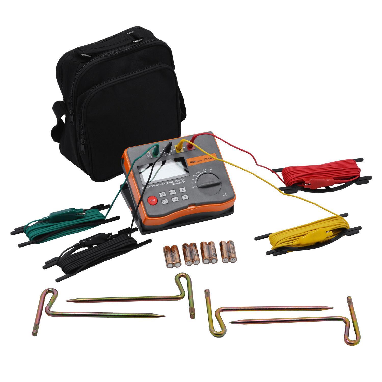 Terrômetro Medidor de Resistência Tr-4400 Icel